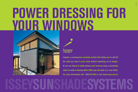 Issey Sunshades for Intersect Communications
