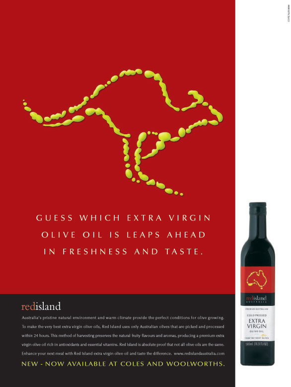 Red Island Olive Oil for Core Marketing